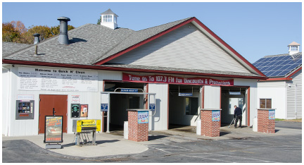 State of the Art Facilities at Quick N' Clean Car Wash in Taunton, MA